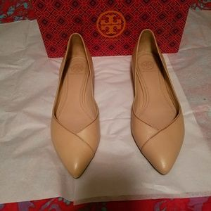 Tory Burch Nicki Point-Toe Flats