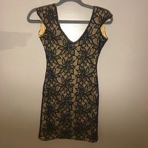 Lovers and friends dress black lace dress