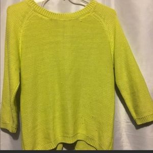 Zara sweater with zipper detail on back. SZ M