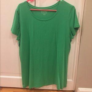 Lilly Pulitzer Crew Neck Tshirt Green size XL