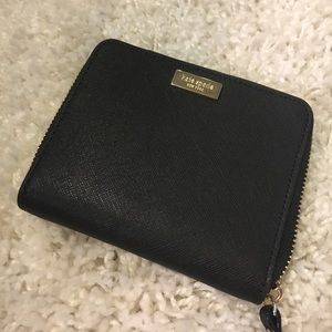🆕 Kate Spade Darci Laurel Way Zip Around Wallet