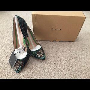 New Zara heels shoes size 6