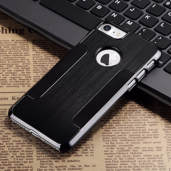 a1f8c1756 iPhone 8 7 6S 6 Metal Black Cover