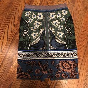 Anthropologie Moth knit skirt size S
