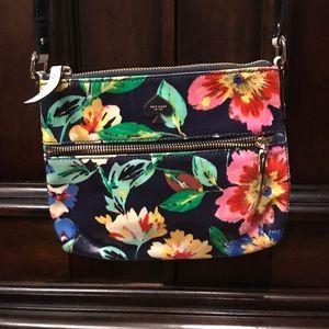 Kate Spade floral mini cross body bag
