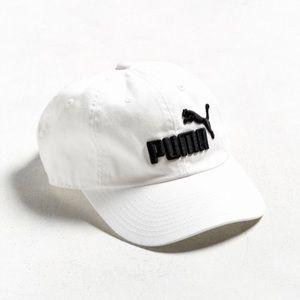 White Puma baseball hat
