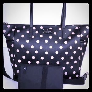 Kate Spade Adaira Laptop/ Diaper Bag