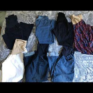Motherhood maternity jeans size XS-S
