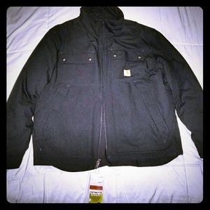 Carhartt black workimg jacket never worn (new)