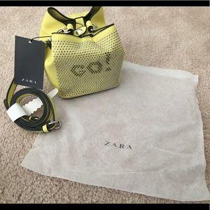 Zara mini bucket bag