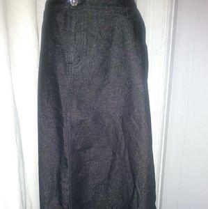 Dresses & Skirts - Pretty Long Jean Skirt