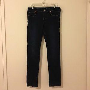 AE Dark Blue Stretch Jegging (never worn)