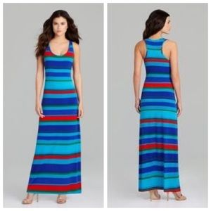 NWT Gianni Bini Drake Striped Maxi Dress