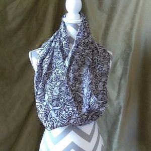 😺 Stained-Glassesque Floral Infinity Scarf