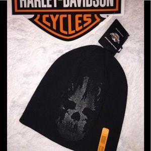 NWT Harley Davidson Skull Hat