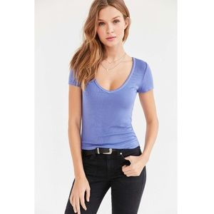 UO Truly Madly Deeply Blue Plunge Perfect Tee