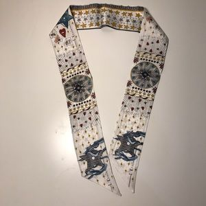 Designer famous bandeau twilly small scarf