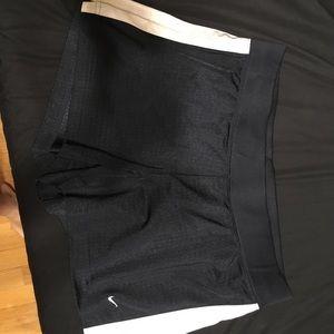 Nike navy draw string gym shorts