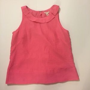 J. Crew pink Top! Size 8