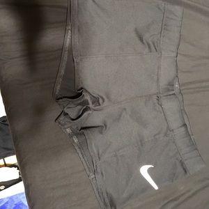 Nike dri fit women's size medium shorts