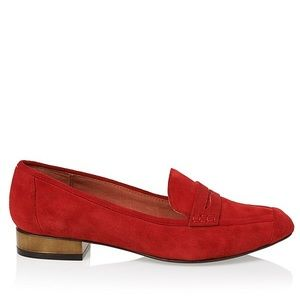 Rebecca Minkoff Red Harlis Loafer