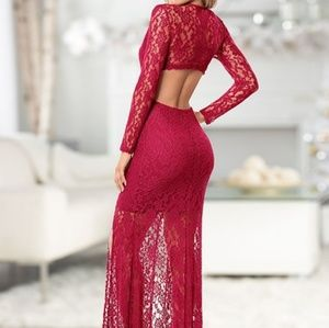 Venus lace dress