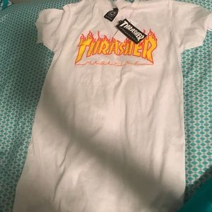 brand new xs thrasher t-shirt