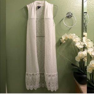 Maxi Cover Up Beach White Dress.