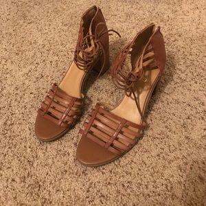Franco Sarto Strappy Heels