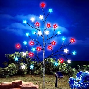 Accessories - Gorgeous Garden MultiColor Solar Christmas tree