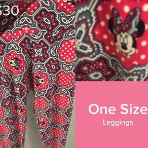 Os LuLa Roe Disney Leggings