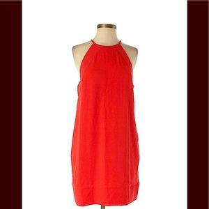 Lumiere red halter dress