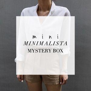 mini MINIMALISTA mystery box