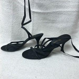 Black Nina Strappy Party Heels
