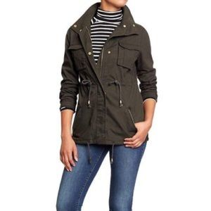 Old Navy Womens Canvas Field Jacket  M