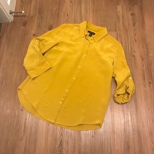 Mustard yellow Shirt size 4
