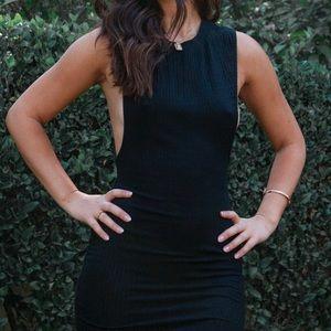 Flirty Black Mini Dress