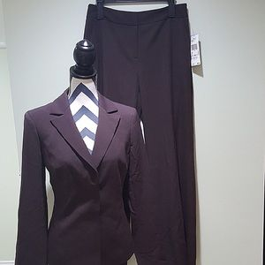 Anne Klein Brown Suit Set