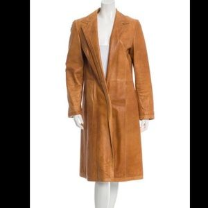 MARNI Tan Leather Jacket