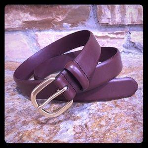 Banana Republic Classic Brown Leather Belt