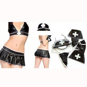 Halloween sexy nurse costume set