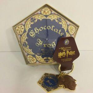 Harry Potter Chocolate Frog Honeydukes & Keychain
