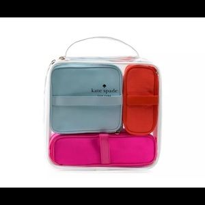 kate spade travel organizer cosmetic case set