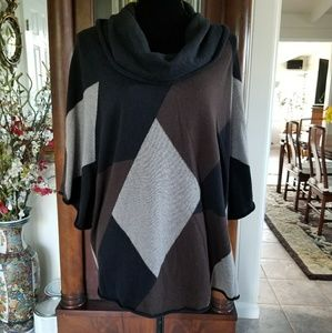 Style & Co Cowl Neck Tunic Top