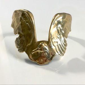 Bird Gold Handcuff