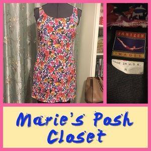 Floral Print Mini-Dress