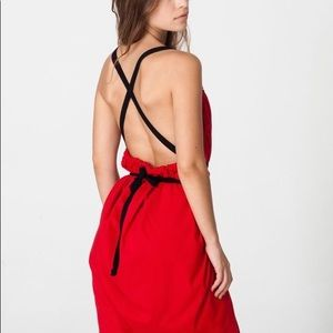 🆕 Le Sac Red Convertible Dress