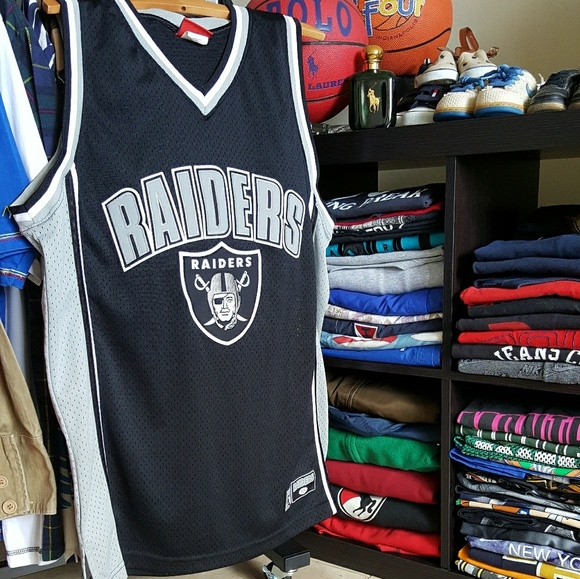 NFL Official Oakland Raiders Tank Top Jersey