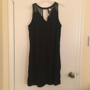 🔥 2 FOR $20 🔥 Old Navy TALL Boho Black Dress