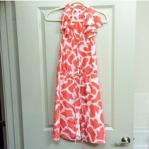 Ann Taylor LOFT Giraffe Print Dress